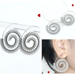 Silver Earrings New Fashion Trendy Jewelry Crystal